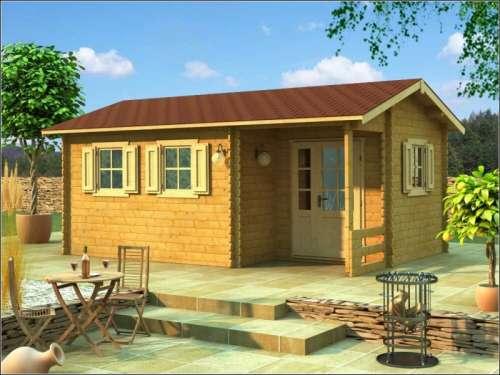 Dřevěné chaty prodej